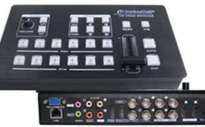 HDS-7106 CHANNEL SWITCHER (6-CHANNEL HD- VIDEO SWITCHER)